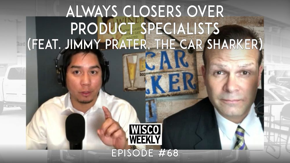 jimmy prater, product specialists, sales closers