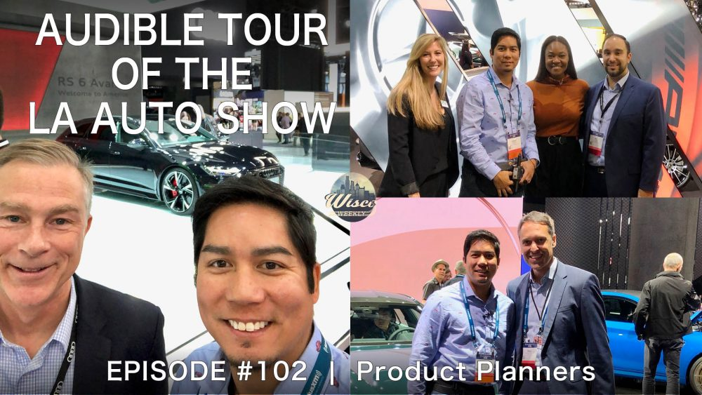 audible tour, los angeles auto show